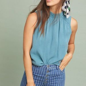 Anthropologie Cloth & Stone Liana Blouse XS